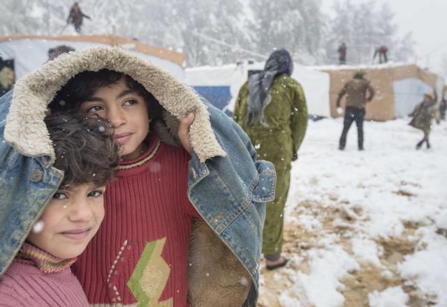 Syrische Fluechtlinge im Libanon